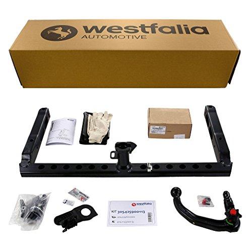 Westfalia-305425900113-Abnehmbare-Anhngerkupplung-und-fahrzeugspez-Elektrosatz