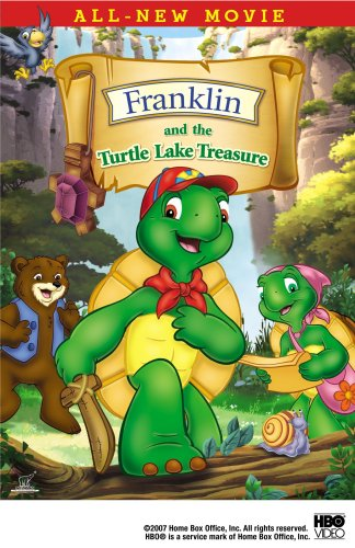 Franklin & The Turtle Lake Treasure [DVD] [Region 1] [US Import