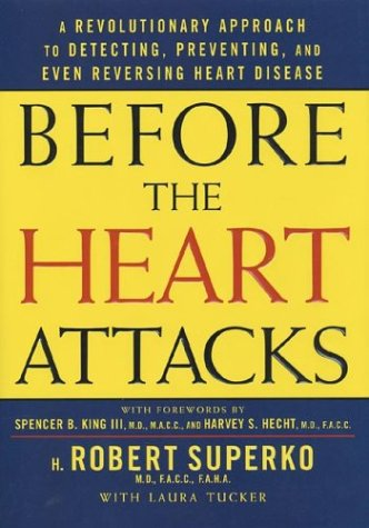 Before The Heart Attacks: A Revolutionary Approach To Detecting, Preventing, And Even Reversing Heart Disease front-550919