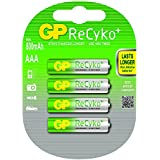 GP Recyko AAA Rechargeable NiMH Batteries (Card of 4)
