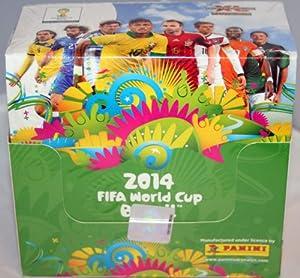 2014 FIFA Panini Adrenalyn XL World Cup Brazil Box Of 50 Packs