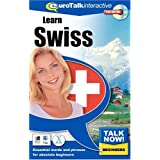 Talk Now Learn Swiss: Essential Words and Phrases for Absolute Beginners (PC/Mac)by EuroTalk Limited