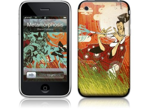 Apple iPhone 3G Premium Vinyl Skin - Metamorphosis Orchestra (GelaSkins Brand) Made in Canada