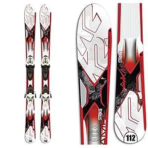 K2 Strike Jr. Kids Skis with Marker