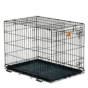 Midwest 1624 24-By-18-By-21-Inch Life Stages Single-Door Pet Crate