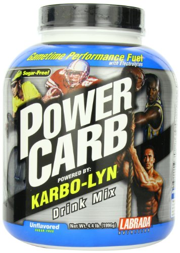 Labrada Nutrition Powercarb Karbolyn Nutritional Beverage, Unflavored, 4.4 Pound