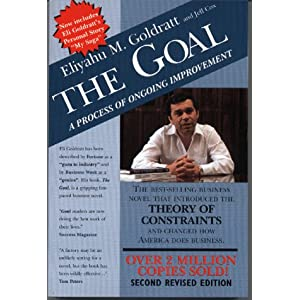 The goal a process of ongoing improvement book report