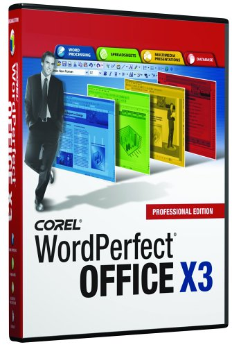 Wordperfect Office X3 Professional [Old Version]