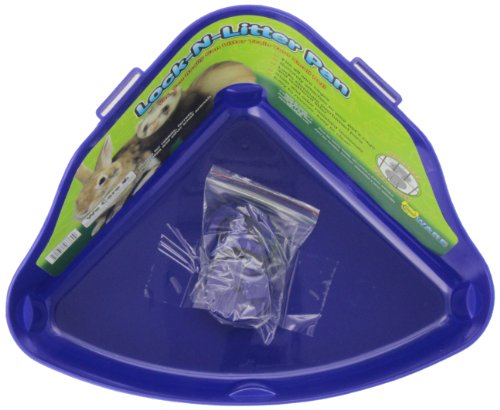 Ware Plastic Lock-N-Litter Small Pet Pan, Colors