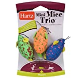 Hartz Mini Mice Trio Cat Toys