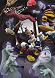 Disney Amazing 3D Greeting Card Postcard - Mickey gets rid of Ghost Halloween Greeting Card -