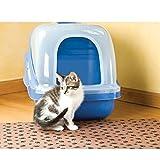 Drymate Litter Box Mat for Cats, XL, Tan, Paw Imprint Design
