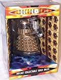 Doctor Who 5 inches high gold Dalek diecast collectible model
