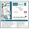 Canadian Dental Aptitude Example Tests & Soap Carving Guide : TopScore Pro for the Canadian DAT