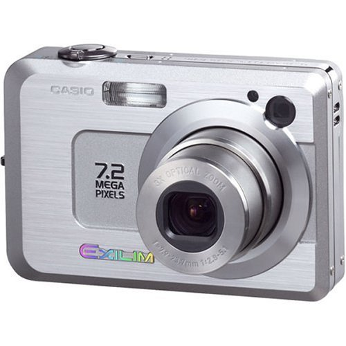 Casio Exilim EXZ750 7MP Digital Camera with 3x Optical Zoom