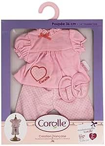 Corolle - V7943 - Vêtement Poupée 36cm - Mademoiselle Corolle - Ensemble Nuit