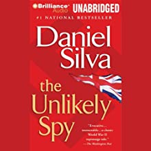 The Unlikely Spy (       UNABRIDGED) by Daniel Silva Narrated by Michael Page