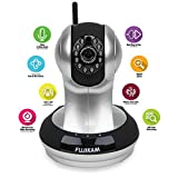 Fujikam FI-361 HD, Wifi, Video Monitoring, Surveillance, security camera,plug/play, Pan/Tilt with Two-Way Audio and Night Vision