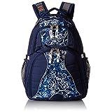 High Sierra Swerve Backpack, True Navy/Enchanted/White
