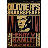 Olivier's Shakespeare (Hamlet / Henry V / Richard III) (The Criterion Collection) ~ Laurence Olivier