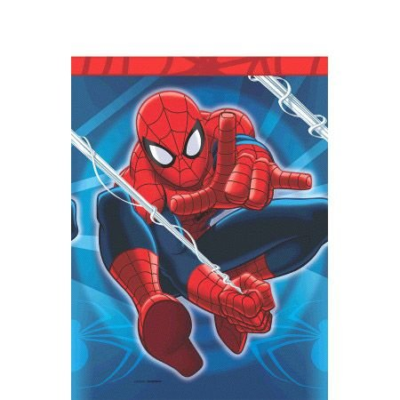 Spiderman Table Cover (Each) - Party Supplies