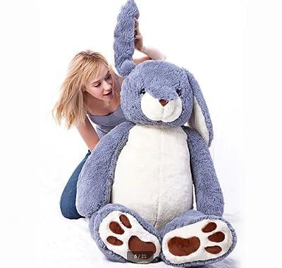 うさぎ ぬいぐるみ ウサギ 130cm 兎抱き枕/子供のプレゼントバレンタインデー/ふわふわぬいぐるみ/