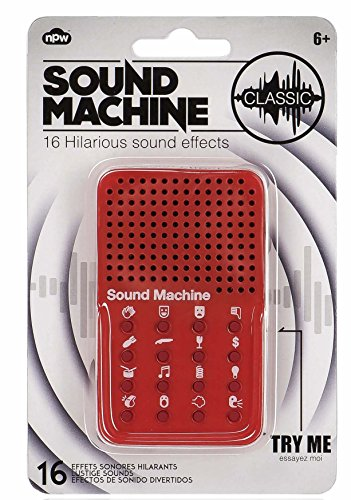 NPW Sound Machine, Classic Sound Effects. Annoy the hell out of everyone with farts, bangs, sirens and many more besides!
