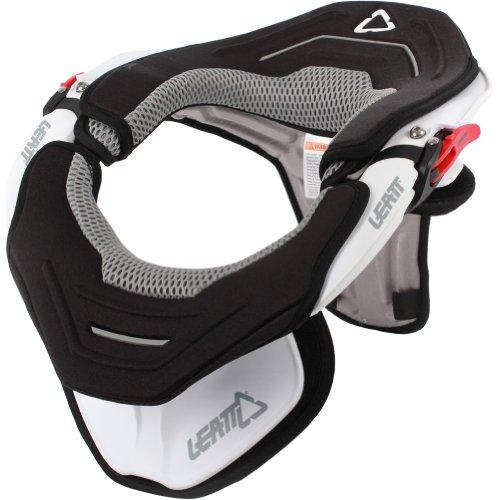 Leatt Brace Leatt GPX Trail Adult Neck Brace Off-Road Motorcycle Body Armor - White / Small/Medium