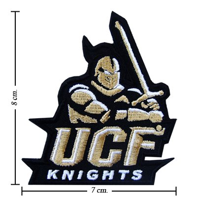 Central Florida Knights Type-1 Embroidered Iron On Patch (Central Florida Patch compare prices)