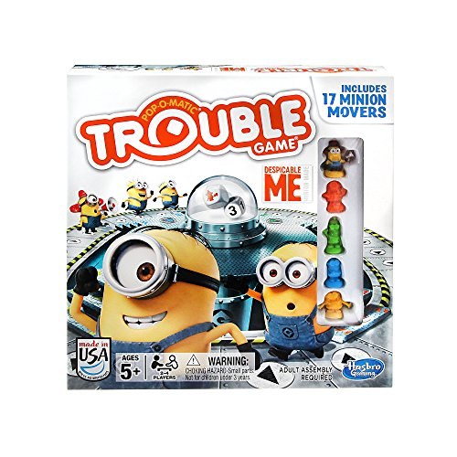Trouble Game Despicable Me Edition 0630509270064