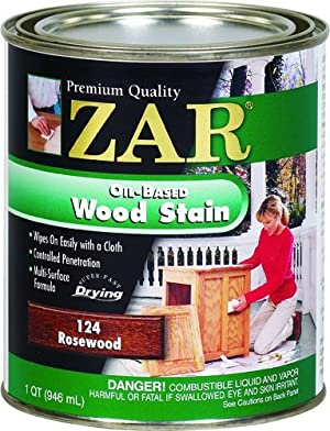 ZAR 12412 Wood Stain, Rosewood