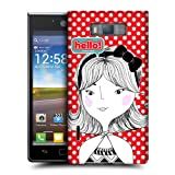 Head Case Designs Hyung Hi Hello Protective Snap-on Hard Back Case Cover for LG Optimus L7 P700