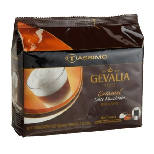 Tassimo Caramel Latte Macchiato T-Discs, 80ct (Tassimo Disk compare prices)