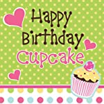 Charmed Celebrations Sweet Treats Cupcake Lunch Napkins