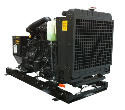 Power Tech Pt-17.5-A, 17,500 Watt Diesel Generator Open Power Unit