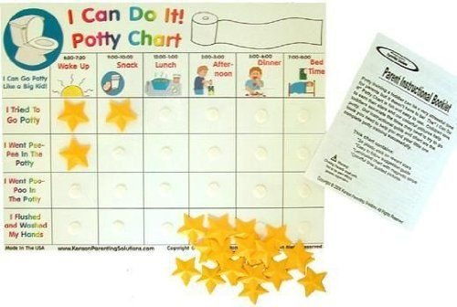 toddler potty training chart