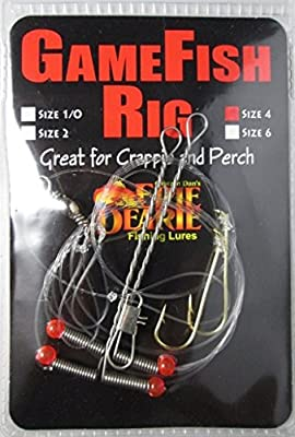 Carlson GameFish Crappie Rig (2 pack - Size 4)