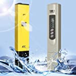 DLAND Digital PH Meter + TDS Tester A...