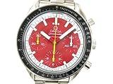 [オメガ]OMEGAスピードマスター シューマッハ 腕時計 SS レッド メンズ3510.61(BF044378)[中古]