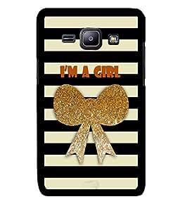 Fuson 2D Printed Designer back case cover for Samsung Galaxy J1 - D4362