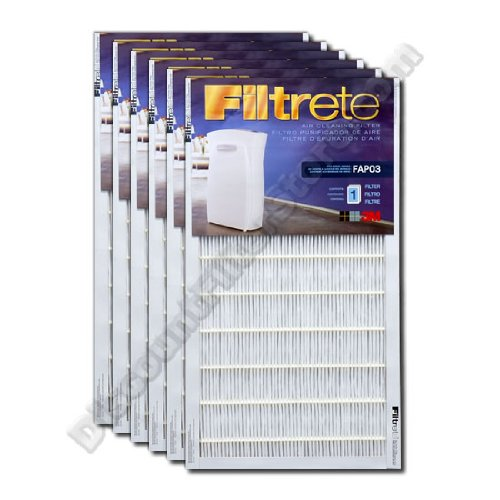 Cheap Filtrete FAPF03-6 Ultra Clean Air Purifier Replacement Filter (6-Pack) (FAPF03-6)