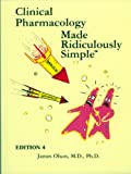 img - for Clinical Pharmacology Made Ridiculously Simple book / textbook / text book