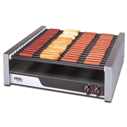 Apw Wyott Hrs-85 X*Pert Flat Top Hot Dog Roller Grill With Tru-Turn Surface Rollers - 208/240V, 2017