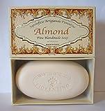 Saponificio Artigianale Fiorentino Almond Fine Handmade Soap 10.5 Oz Bar All Natural