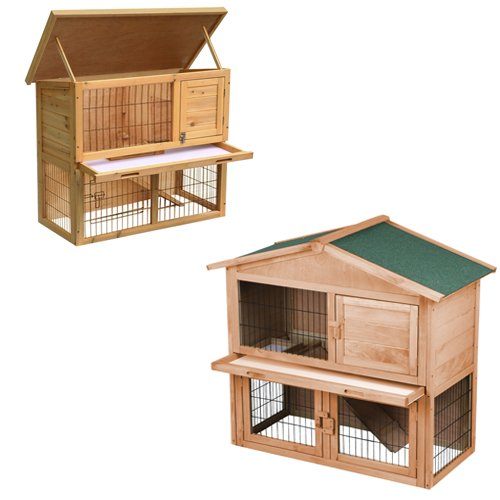 go2buy-Wood-Pet-Rabbit-Hutch