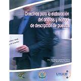 Directivas para la elaboración del análisis y manual de descripción de puestos