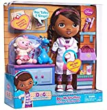 "Doc McStuffins Talking & Singing 11"" Doll with Lambie and Stuffy figure"