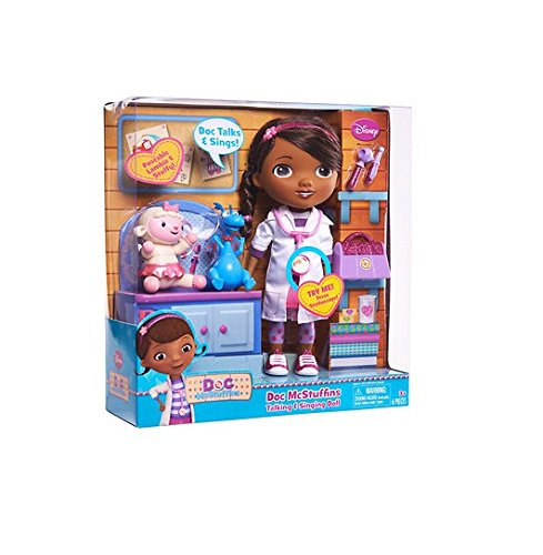Doc Mcstuffins Doll With Lambie