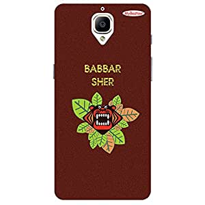 Babbar Sher - Mobile Back Case Cover For One Plus 3