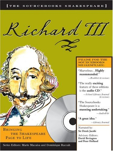 Richard III (Sourcebooks Shakespeare; Book & CD)
